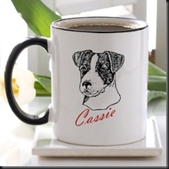 mug personalized dog